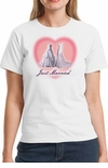 Two Wedding Dresses Just Married Gay Marriage T-Shirt