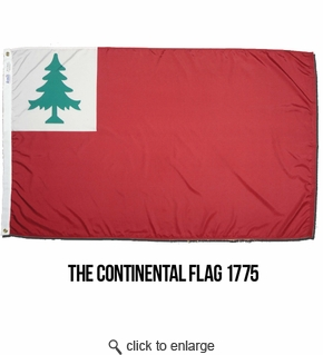 3x5  The 1775 Continental Flag