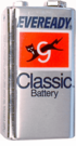 Eveready 9 Volt replacement battery