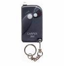 Genie Compatible 9 or 12 Dip Switch Carper Garage Door Opener Mini Keychain Remote CAR390