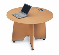 "43"" Round Conference Table"