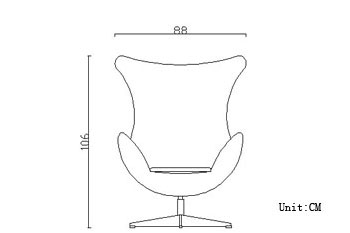 shop arne jacobsen egg chair wool 10 color choices leather 16 color choices for only 1599 arne jacobsen egg chair leather black