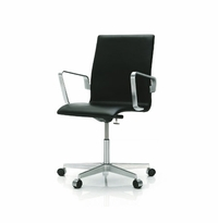 arne jacobsen oxford office chair low back arne jacobsen office chair