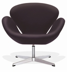 Arne Jacobsen Swan Chair - Wool -10 Color Choices! Leather-16 Color Choices!