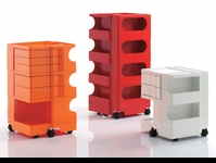 B-Line Boby Trolley Storage Caddies by Joe Colombo