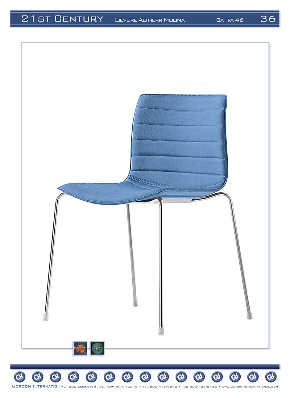 Catifa 46, Upholstered Side Chair-Lievore, Altherr, Molina - Click to ...
