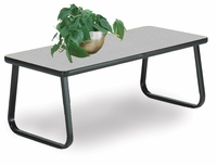Cocktail Table with Sled Base