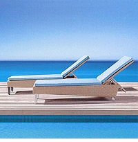 Duran Patio Chaise Lounger Chair