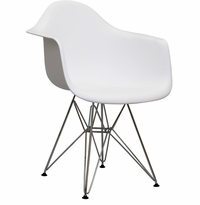 Eames Style  Lounge Chair, Arm