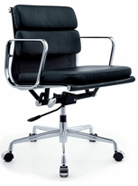 Eames-Style Soft Pad Executive Managment Chair