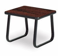 End Table with Sled Base