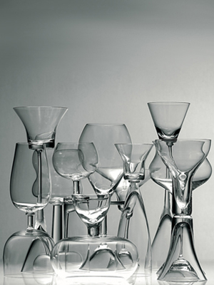 Happy People Reversible Goblets Collection - Click to enlarge