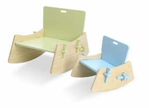 Lullaboo Small or Medium Rocking Chair by Celery Furniture - Click to enlarge