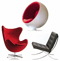 Modern Classic Designer Chairs
