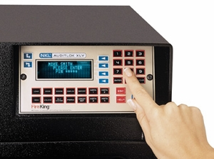 NKL AutoBank Dispensing Safe AuditLok XLV - Click to enlarge