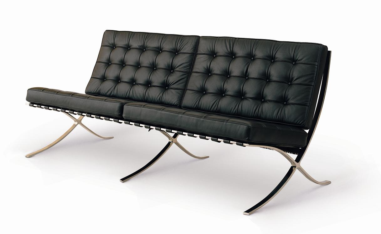 Shop Barcelona Sofa by Mies van der Rohe 71quot for only 1695 : pavilion sofa 100 italian leather in stock 295 from www.gibraltarfurniture.com size 1217 x 748 jpeg 78kB