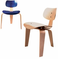 SE 42 3-Legged Molded Plywood Chair by Wilde + Spieth