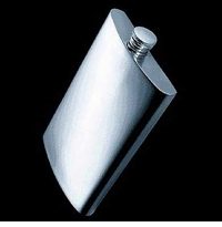 Travel Flask, 200 ml/6.7 oz., 18/10 stainless, satin