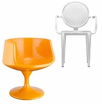 Unupholstered Occassional Chairs (Wood, Metal, Plastic, etc.)