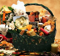 """A Gift Of Grace"" Sympathy Gift Basket"