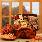 A Gourmet Fall Harvest Gift Basket