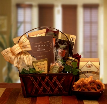 """""""A Time To Grieve"""" Sympathy Gift Basket"""