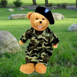American Hero Singing Army Bear