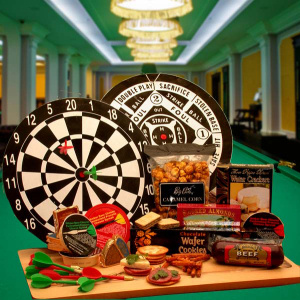 Bullseye Treats Dart Board Gift