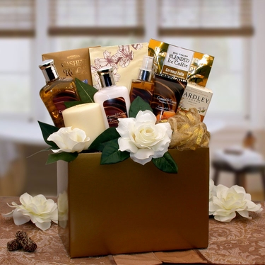 Caramel Inspirations Spa Gift Box