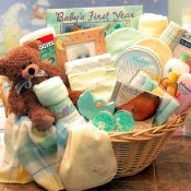Deluxe Welcome Home Baby Basket