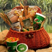 Fisherman Creel Gift Basket