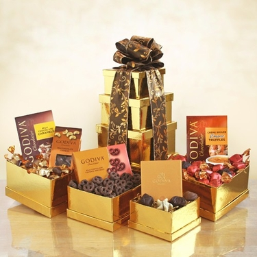 Golden Godiva Tower