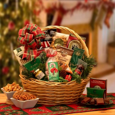 Holiday Celebrations Gift Basket - Small