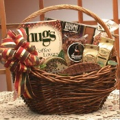 Hugs For Coffee Lovers Basket