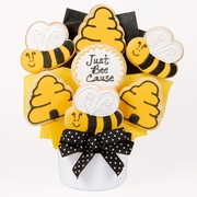 Just Bee Cause Cut Out Cookie Bouquet