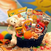 Kids Stop Activity Basket