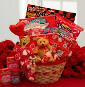 """My Little Valentine"" Kids Gift Basket"