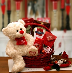 """Say You'll Be Mine"" Valentine Basket"