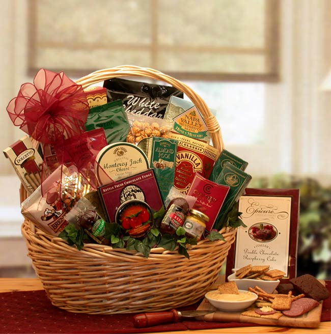 Snack Gift Baskets - Snack Attack Gift Basket