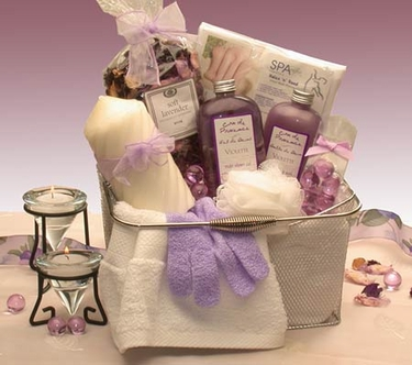 Spa Caddy Gift Basket