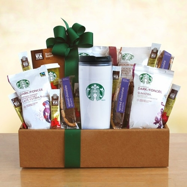 Starbucks Get Up & Go Box