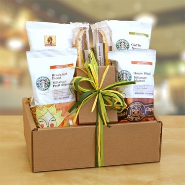 Starbucks Sampler Gift Basket