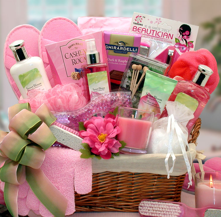 Spa gift baskets sweet blooms spa gift basket sweet blooms spa gift basket negle Images