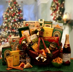 The Holiday Entertainer Gift Basket