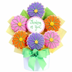 Thinking Of You Cutout Cookie Bouquet