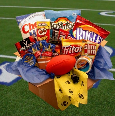 Touchdown Game Time Care Package