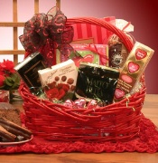Valentine's Day Chocolate Gift Basket