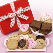 Valentine's Day Cookies & Brownies Gift Box