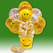 """We Make You Smile"" Gourmet Cookie Bouquet"
