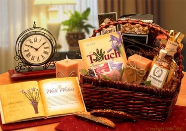 Wellness Wishes Get Well Basket